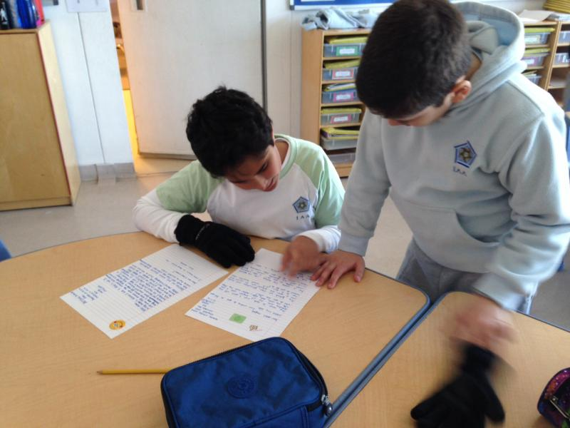 New Pen Pals in Grade 4C! | The International Academy – Amman